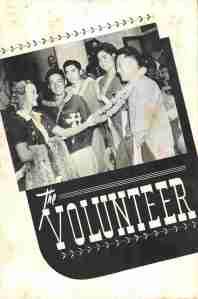 """Cover of Varsity Victory Volunteers' """"The Volunteer"""""""
