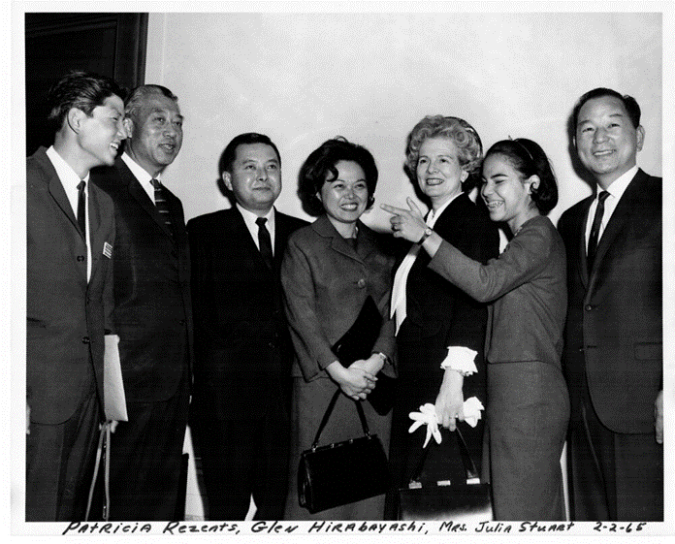 Picture of the HI Congressional delegation and others, 1965